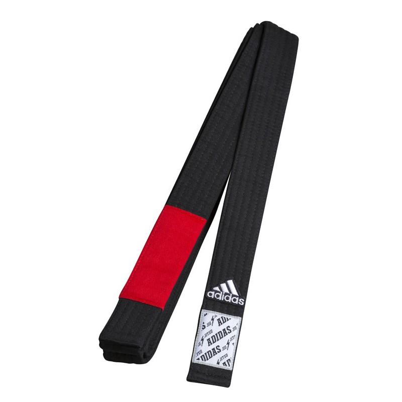 Jiu Jitsu Belt Black/Red
