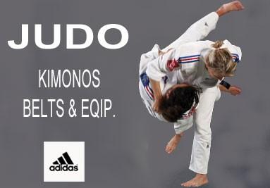 Judo - Kimonos, Belts, Eqip